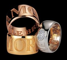 """Pasquale Bruni """" Amore """"  http://www.pasqualebruni.com available also @ Perlina Jewelers 7186480501"""