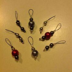 Draht und Perlen gleich Maschenmarkierer