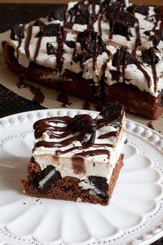 Cookies 'n' cream -brownie
