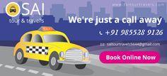 Sai Tour & Travels provide secure services to you. http://www.saitourtravels.com/  #Chandigarh #Kharar #Zirakpur  #Mohali #Panchkula #Taxiservice #Touroperator