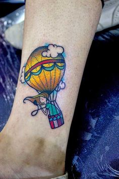 65bfde635 Balloon Tattoos: Meanings, Designs, Pictures, and Ideas | Tattoos ...