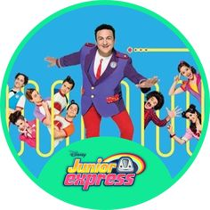 Disney Junior, Disney Jr, Junior Express, Bts Chibi, Toy Story, Barbie, Baby Shower, Tv, Party