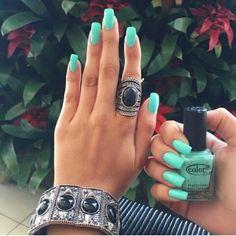 #color #lindo #uñas