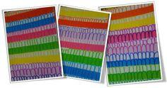 Ponts et bandes de couleur