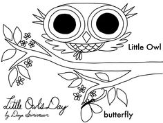 Hidden Owl Find coloring page  LIBRARY Printables  Pinterest
