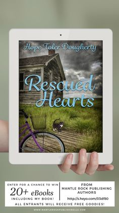 Here's a chance to win free e-books! #RescuedHearts #giveaways #inspyromance #forbooklovers