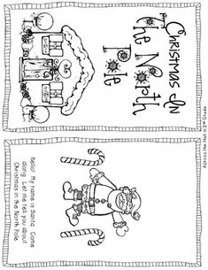 Christmas in The North Pole Reader {FREE} - Across the Hall in 2nd Grade - TeachersPayTeachers.com