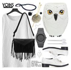 """Yoins V"" by pastelneon ❤ liked on Polyvore featuring Kurt Adler, CC, Normann Copenhagen, NOVICA, women's clothing, women's fashion, women, female, woman and misses"