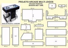 Arcade Game Machines, Vending Machines, Arcade Games, Gaming Cabinet, Diy Arcade Cabinet, Bartop Arcade Plans, Arcade Room, Mancave Ideas, Pinball