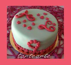 tartearte: tartas fondant Birthday Cake, Desserts, Food, Fondant Cakes, Deserts, Tailgate Desserts, Birthday Cakes, Essen, Postres