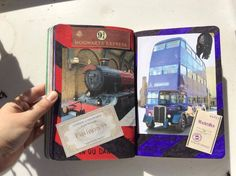 Saccage ce carnet - Trace des lignes tout en marchant dans un train ou dans un bus