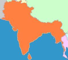 Original Bharat, before the Islamic Invasion of Bharat (India)