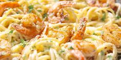 Cajun Shrimp Pasta-​That creamy Parmesan sauce though...​INGREDIENTS  1 lb. linguine 1 tbsp. exra-virgin olive oil 1 lb. peeled and deveined large shrimp kosher salt Freshly ground black pepper 2 tbsp. Cajun seasoning 2 tbsp. butter 2 tbsp. all-purpose flour 3/4 c. heavy cream 1/2 c. grated Parmesan, plus more for garnish 1/4 c. chopped fresh parsley