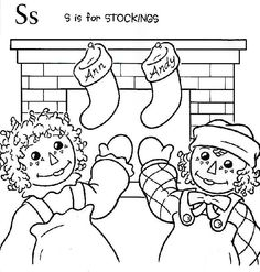 1000 images about redwork children on pinterest vintage for Raggedy ann and andy coloring pages