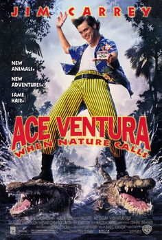 """Ace Ventura, When Nature Calls """"you're balls are showing, bumblebee tuna"""" - hhhhhhaaaaaaaa, best line EVER http://www.local-records-office.org/articles/ Funny Movies, 90s Kids Movies, Comedy Movies, Amazon Instant Video, Full Movies Download, Movies To Watch, Jim Carrey, Movie Trailers, Film"""