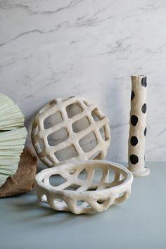 Boutique Brutal Ceramics by Claire Pain Diy Air Dry Clay, Diy Clay, Clay Crafts, Ceramic Clay, Ceramic Pottery, Pottery Art, Clay Art Projects, Ceramics Projects, Ceramic Design