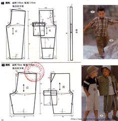 5084531_41 (644x660, 222Kb) Baby Dress Patterns, Sewing Patterns For Kids, Sewing For Kids, Baby Sewing, Clothing Patterns, Diy Pantalon, Short Niña, Baby Couture, Baby Pants