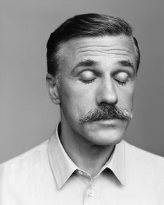 Christoph Waltz, photographed by Alasdair McLellan