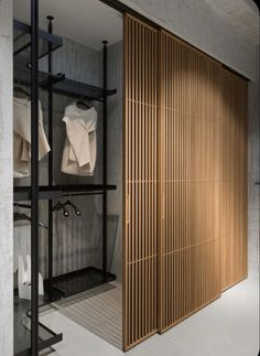RIMADESIO strandhuis New monobrand store Rimadesio in Kiev Ukraine Photo Bedroom Closet Design, Home Room Design, Bedroom Storage, Wardrobe Design, Bedroom Decor, Small Wardrobe, Sliding Wardrobe, Modern Wardrobe, Bedroom Wardrobe