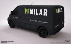 """Wrap Car Design 3 """"Milar"""" on Behance"""