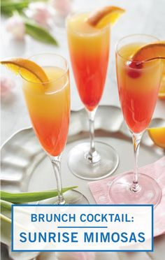 Food Recipes for Dinner, Desserts, Appetizers & More - Kroger Refreshing Cocktails, Summer Drinks, Breakfast Cocktail, Alcoholic Drinks, Beverages, Maraschino Cherries, Mimosas, Orange Juice, Comfort Zone