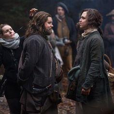 NEW pic of @GrantORourke and @FinndH via @Outlander_Starz IG account #Outlander