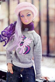 Fashion Royalty Poppy Parker: Mood Changers | www.facebook.c… | Flickr Barbie Mode, Barbie I, Vintage Barbie Dolls, Barbie World, Barbie Clothes, Fashion Royalty Dolls, Fashion Dolls, Barbie Family, Poppy Parker