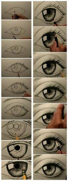 ~ HOW TO DRAW EYES
