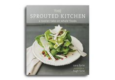 the sprouted kitchen.    Sara Forte's blog turned into a book about using foods that are whole & healthy.