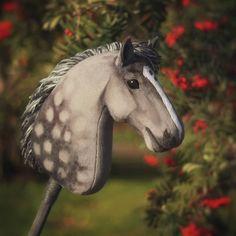 Hobbyhorse 'Ashen Dystopia' by Eponi-hobbyhorses on DeviantArt Horse Galloping, Breyer Horses, Horse Stables, Horse Tack, Stick Horses, Year Of The Horse, Horse Crafts, Hobby Horse, Horse Photos