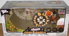 Tech Deck Crackers & Cheese Mini Ramp W/ Dvd 1 [Toy], 2015 Amazon Top Rated Skateboards #Toy