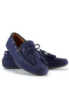 43954ce3d6a3 Mocassins Harold à glands en daim - Tous les chaussures   accessoires  Accessoires - Ralph Lauren France