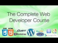 Udemy The Complete Web Developer Course - 02 - WHAT YOU GET WITH THE COURSE - http://mobileappshandy.com/mobile-app-development/udemy-the-complete-web-developer-course-02-what-you-get-with-the-course/