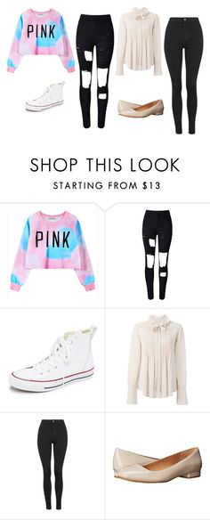 """Lauren & Lorie"" by sabbtenn on Polyvore featuring Chicnova Fashion, Converse, Chloé, Topshop, Calvin Klein, women's clothing, women's fashion, women, female and woman"