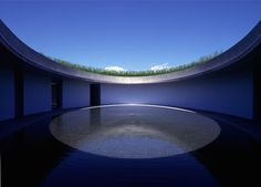 James Turrell, Open Sky at Benesse Art House, Naoshima.