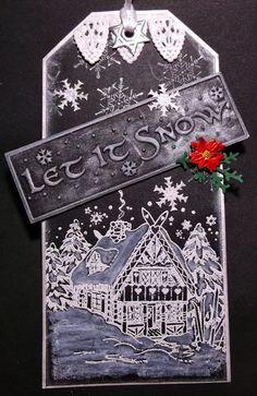 Creative Christmas tag
