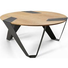 Designový stůl Tabanda Mobiush, černý, 75 cm