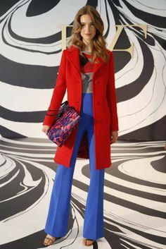 Diane von Furstenberg Resort 2015 - Slideshow - Runway, Fashion Week, Fashion Shows, Reviews and Fashion Images - WWD.com