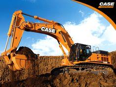 Heavy Machinery by CASE/CASE Entreprenad - http://MaskinVerket.se #CASE