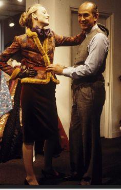 Oscar & Jerry Hall. image by dustin pittman. 1979.