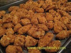Parmesan Chicken Nuggets Recipe | FaveGlutenFreeRecipes.com