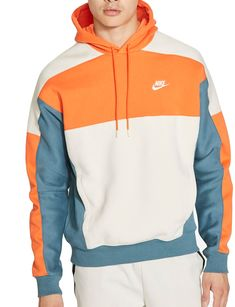 Pullover Hoodie, Nike Hoodie, Nike Clothes Mens, Nike Outfits, Retro Outfits, Casual Outfits, Dope Outfits For Guys, Stylish Hoodies, Colorful Hoodies