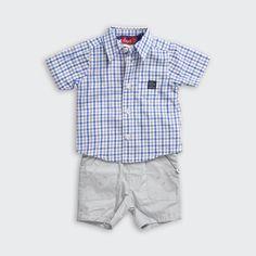 Doll tekstil ürünleriyle de karşınızda! Gömlek, t-shirt ve şorttan oluşan bu üçlü takım Kanz ve SD mağazalarında 79,95 TL...