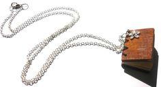 Allegro mini book necklace