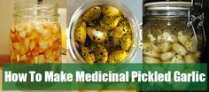 How To Prepare Medicinal Pickled Garlic