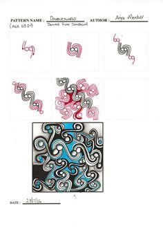 Doubleswirls by Anja Meeter