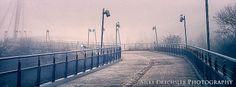 Herrenkrugbrücke (Magdeburg) im Nebel /  © Silke Drechsler Photographie
