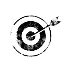 Bullseye Target Icon #042562 ❤ liked on Polyvore featuring circles, effects, filler, art, backgrounds, circular and round