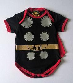 Body Fantasia do Thor Para Bebês