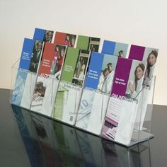 Acrylic Mailbox Literature Holder In-Store Promo | Literature ...
